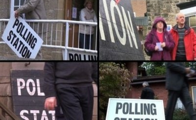 Voting starts in British election race
