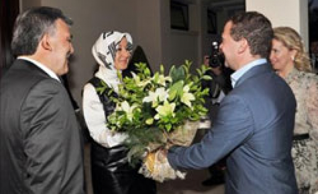 Turkey welcomes Russia's Medvedev