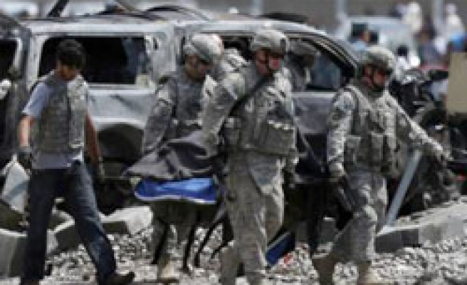 Deadly suicide blast hits NATO troops in Afghanistan