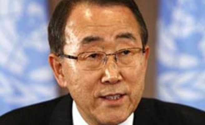 Ban says UN continues to support Cyprus talks