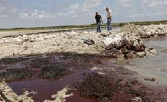 BP tries to curb oil spill; criticism mounts
