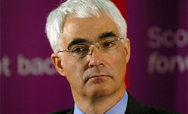 Darling is UK's new finance minister