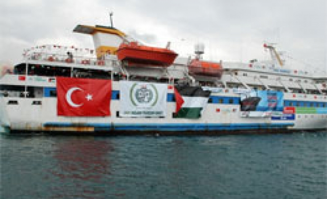 Turkey hopes Israel not to raise tension over Gaza aid ships