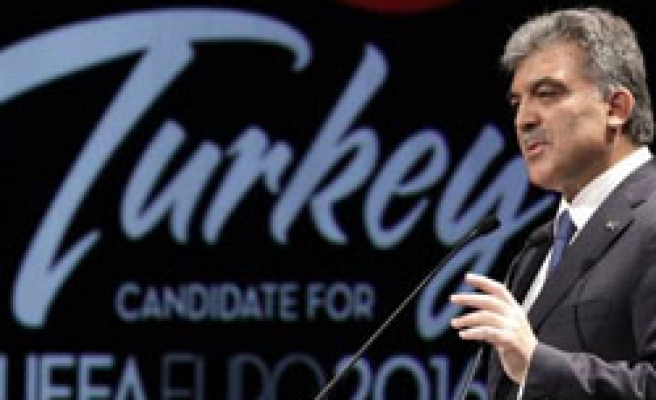 Turkey sorry to miss Euro host 2016 by one vote