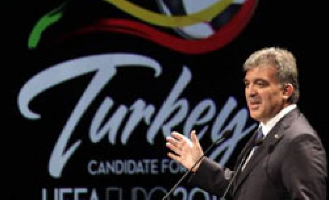 Turkey pledges UEFA 'state support' for Euro 2016 host