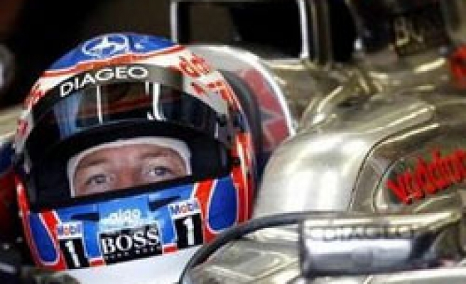 Button sets fastest times in Turkey practice sessions