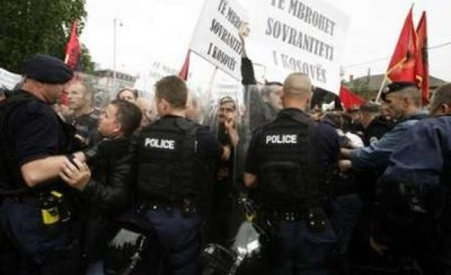 Clashes in Kosovo over Serbia-backed 'elections' attempt