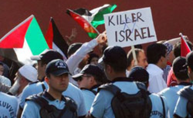 Turkey's Jews say shares protests over Israeli attack on Gaza ships
