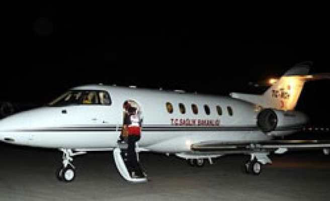 Turkey sends two ambulance planes for remaining wounded Turks in Israel