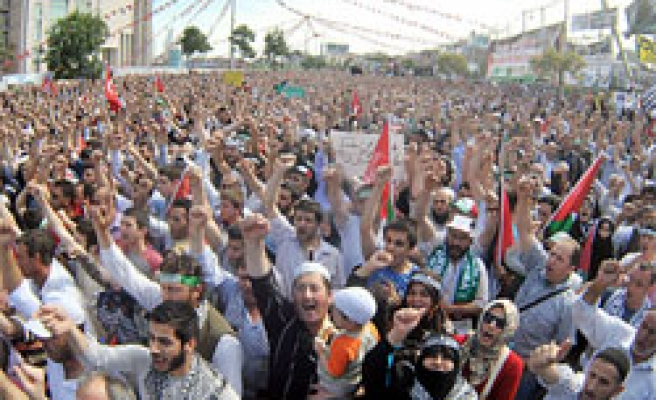 Massive rally as Turkey collects evidence for Israel aid attack / PHOTO