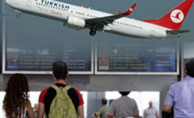 Turkish air passengers up by 20 pc in 2010