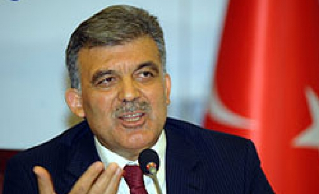 Turkey's Gul dismisses axis shift accusations 'ill-intention'