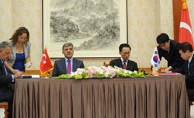Turkey, South Korea sign deals including nuclear cooperation