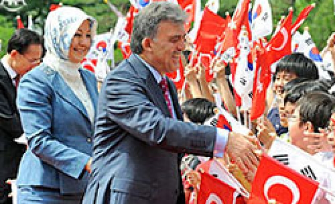 Gul invites South Korean businesspeople to invest in Turkey