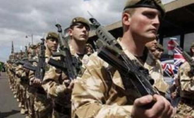Suspect packages found at several British army offices