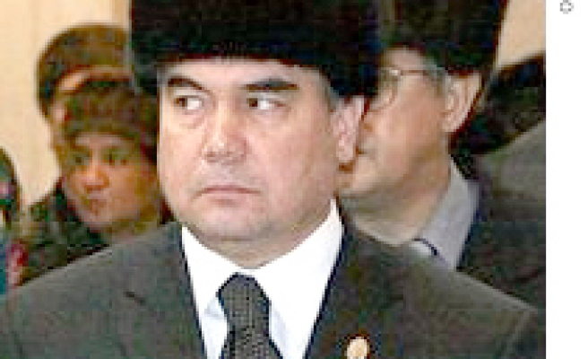 Turkmen Leader Gives Himself Award