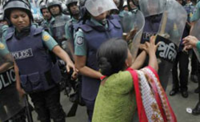 Deaths in Bangladesh garment wage protests - UPDATED