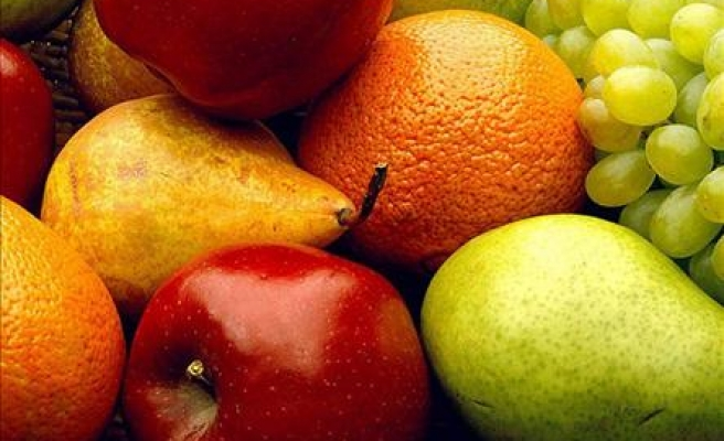 Turkish exports of fresh fruits, vegetables increase