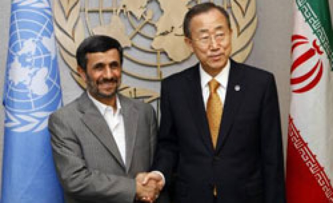 Ahmadinejad calls on US to free Iranians as humanitarian gesture