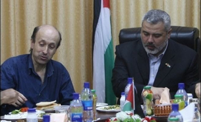 Hamas chief hopes for release of Israeli soldier