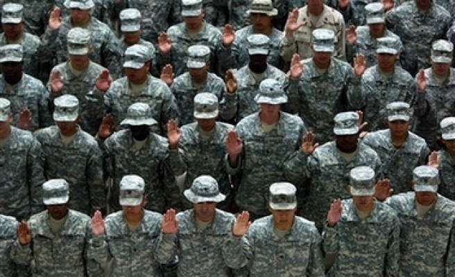 First be solider in US invasions, then become American citizen