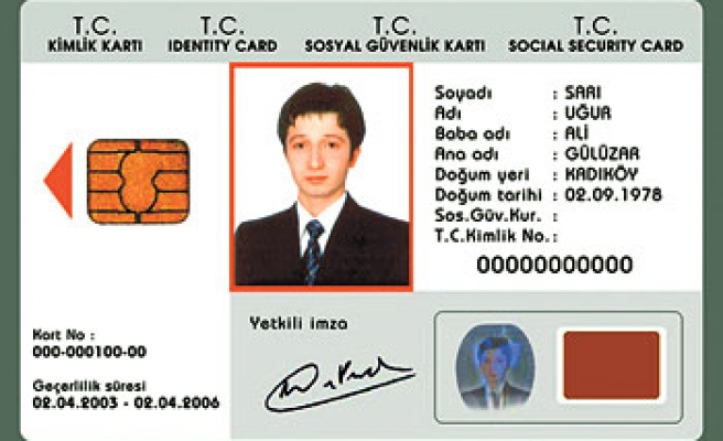 Turkish citizens to be issued electronic ID cards