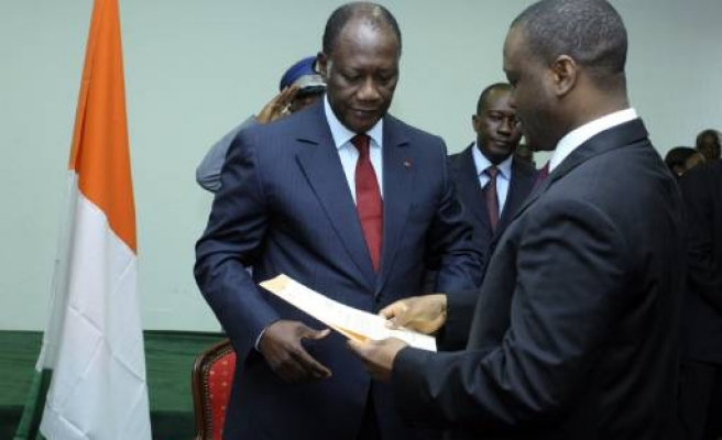UN recognizes Ouattara as 'Ivory Coast's president'