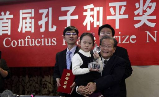 China awards own peace prize ahead of Nobel
