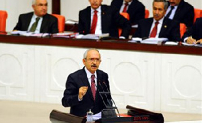 Turkey's CHP leader calls for urgent measures over hot money