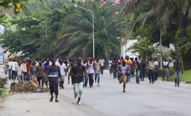 Ivory Coast faces chaos, protesters vow second day march