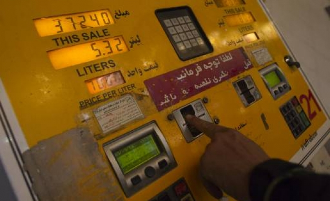 Police in Iran streets as fuel prices soar