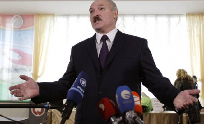 Belarus leader seeks fourth term in vote