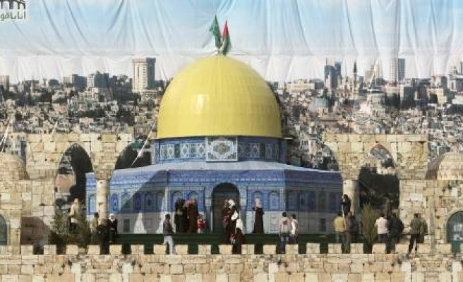Gazans, besieged by Israel, yearn for hours-away Quds