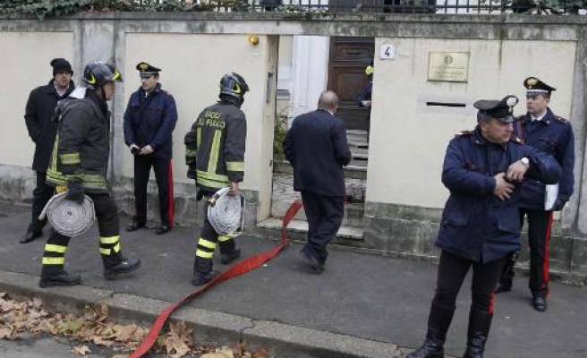 Suspect package at Greek embassy in Rome
