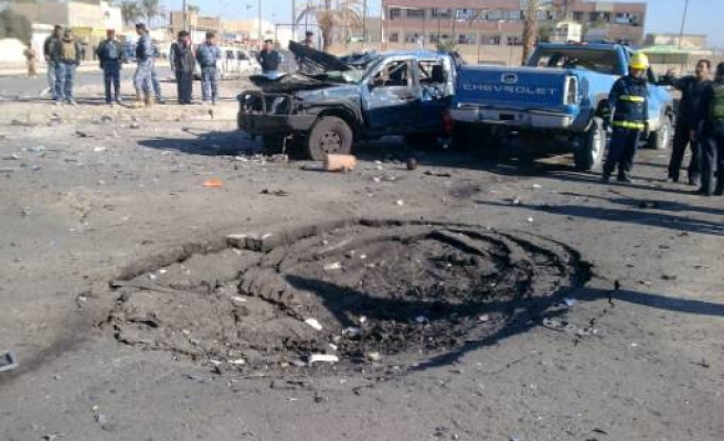 Deadly bombings hit police in Iraq's Ramadi