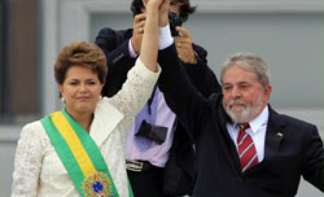 Rousseff becomes Brazil's first female president