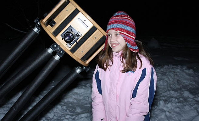 10-year-old discovers supernova
