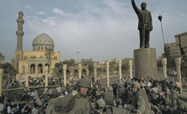 US troops had role in Saddam statue toppling: Report