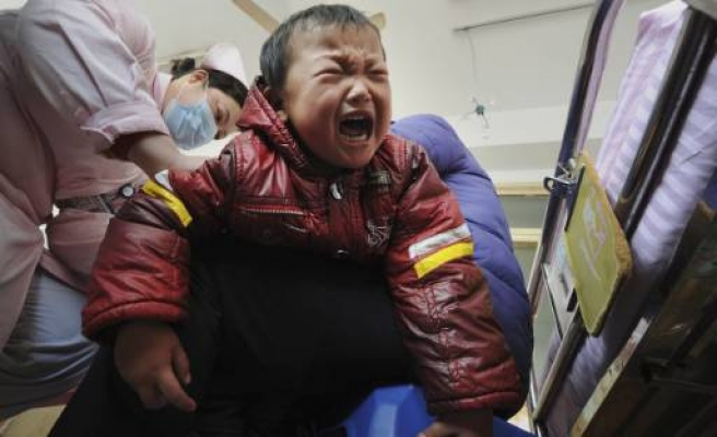 More Chinese children poisoned by lead