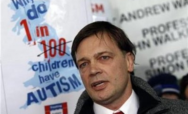 UK autism-vaccine study was 'elaborate fraud'