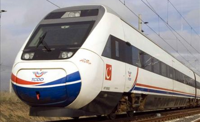 Turkey to build nearly 100 high-speed train stations