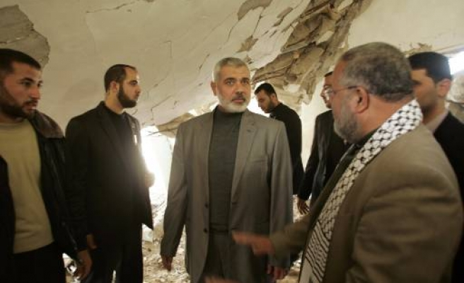 Hamas to build Gaza homes destroyed by Israel