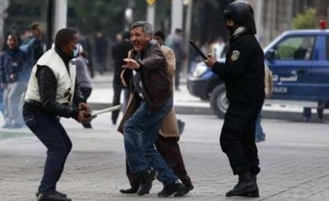 No change in Tunisia's police state, activists warn