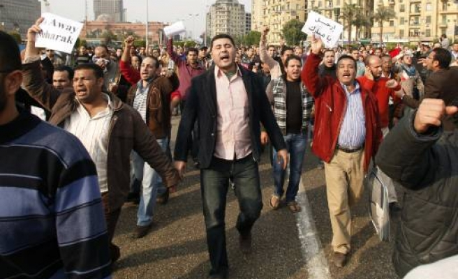 New warning as Egypt activists call for second day protests