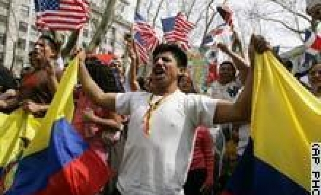 Immigrant Protests Hit New York