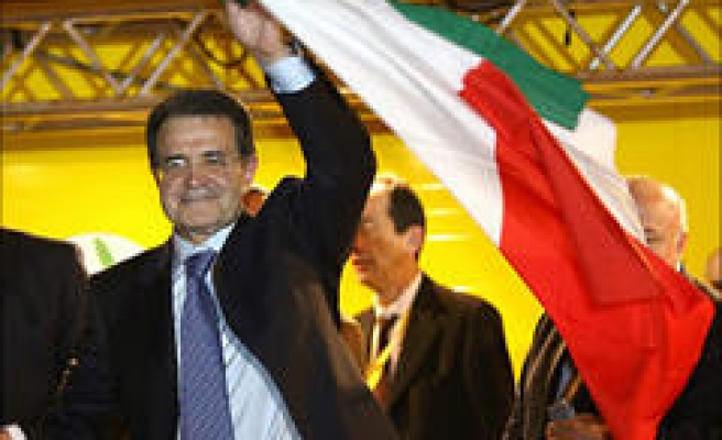 Prodi Claims Victory in Italy