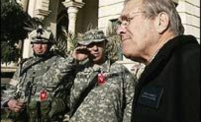 Bush Rebuffs Attack On Rumsfeld