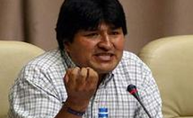 Bolivian President Seizes Gas Industry