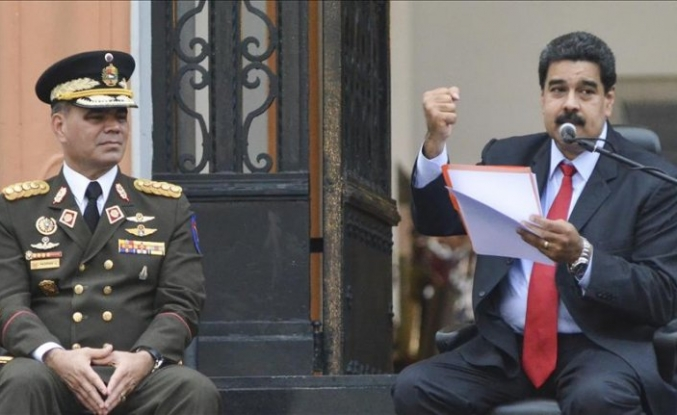 Venezuelan army rejects 'self-proclaimed president'