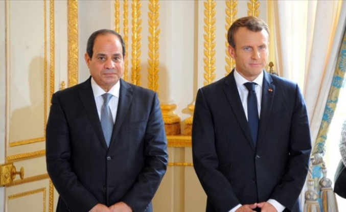 Macron ignores rights groups' calls in Sisi meeting